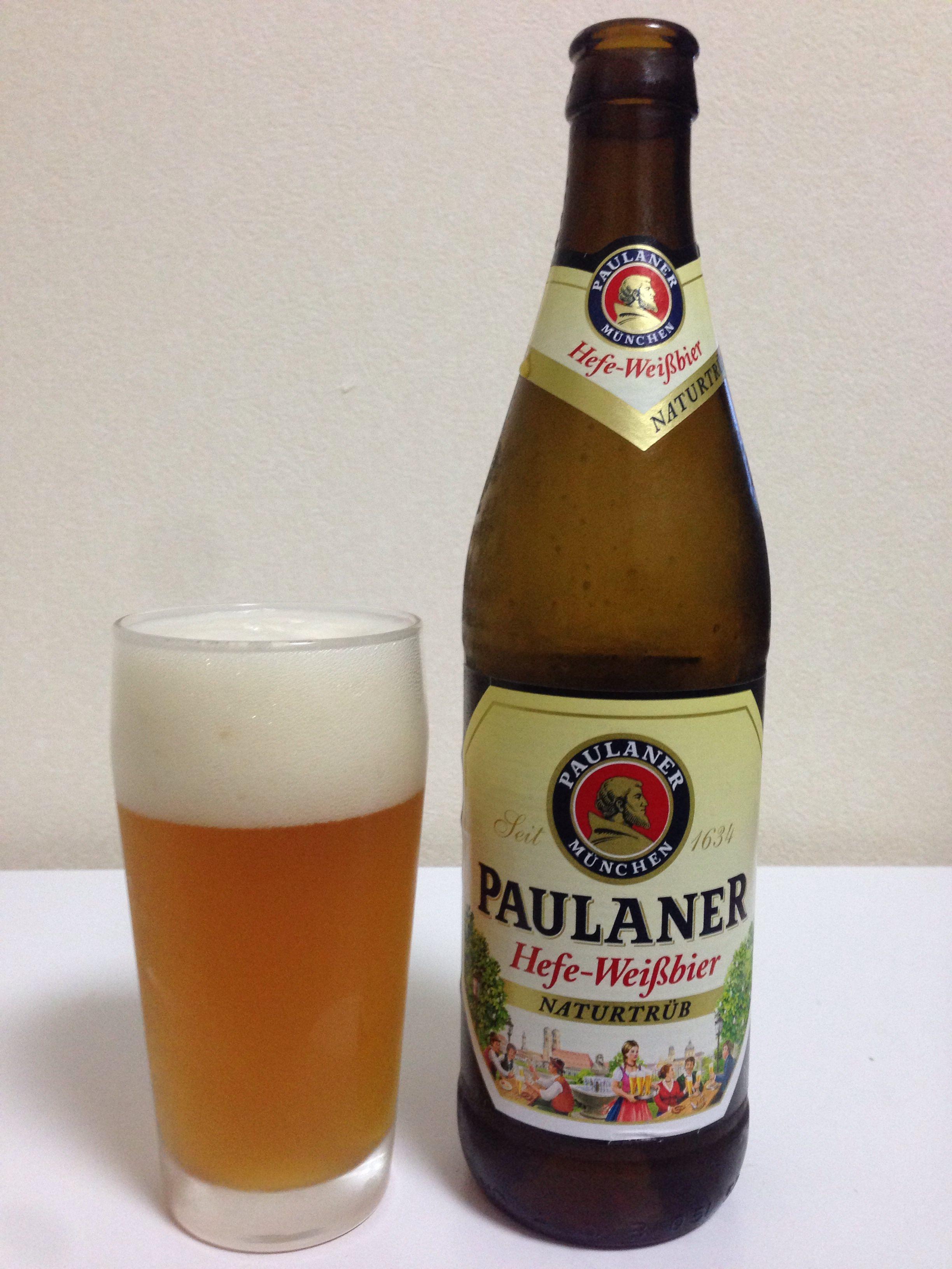 Paulaner Hefe-Weißbier(パウラナー ヘフェヴァイツェン)