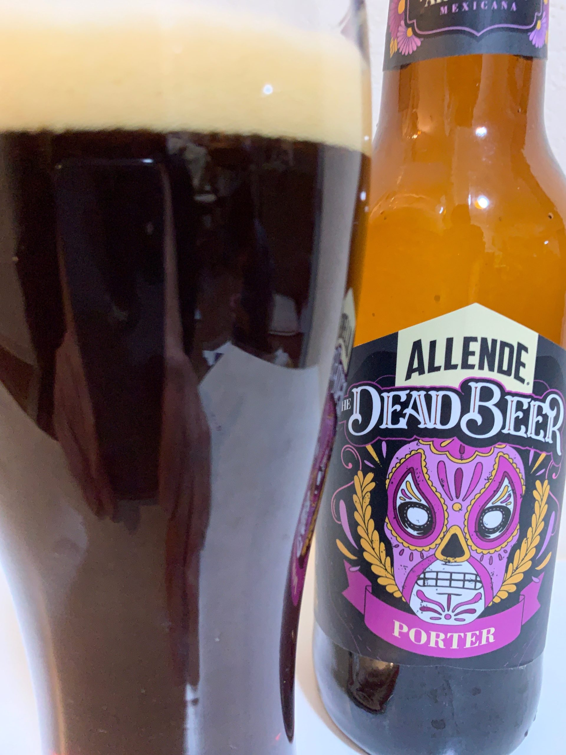 ALLENDE THE DEAD BEER PORTER(アジェンデ ザ デッドビール ポーター)