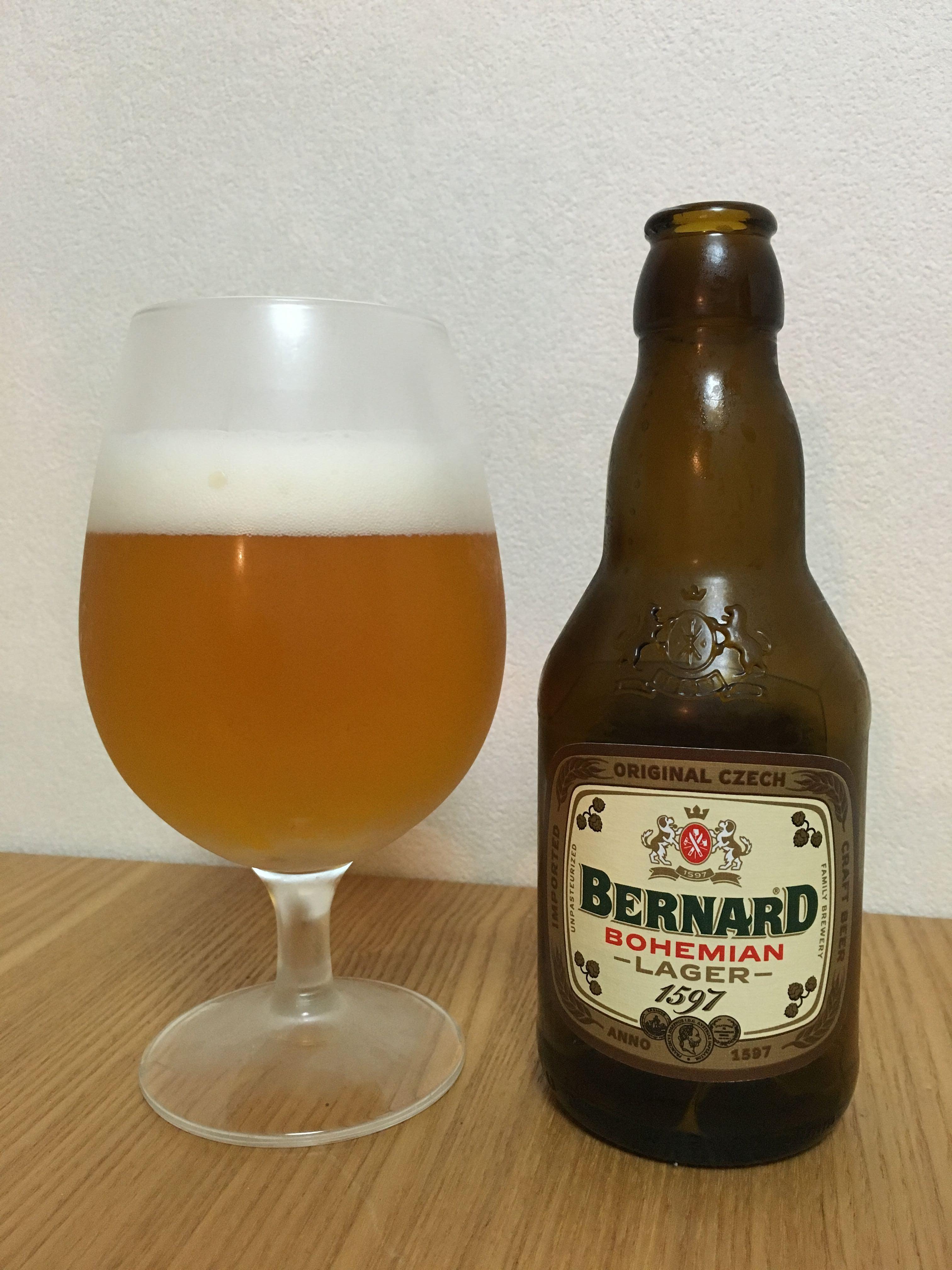 BERNARD BOHEMIAN LAGER(ベルナルド ボヘミアン ラガー)