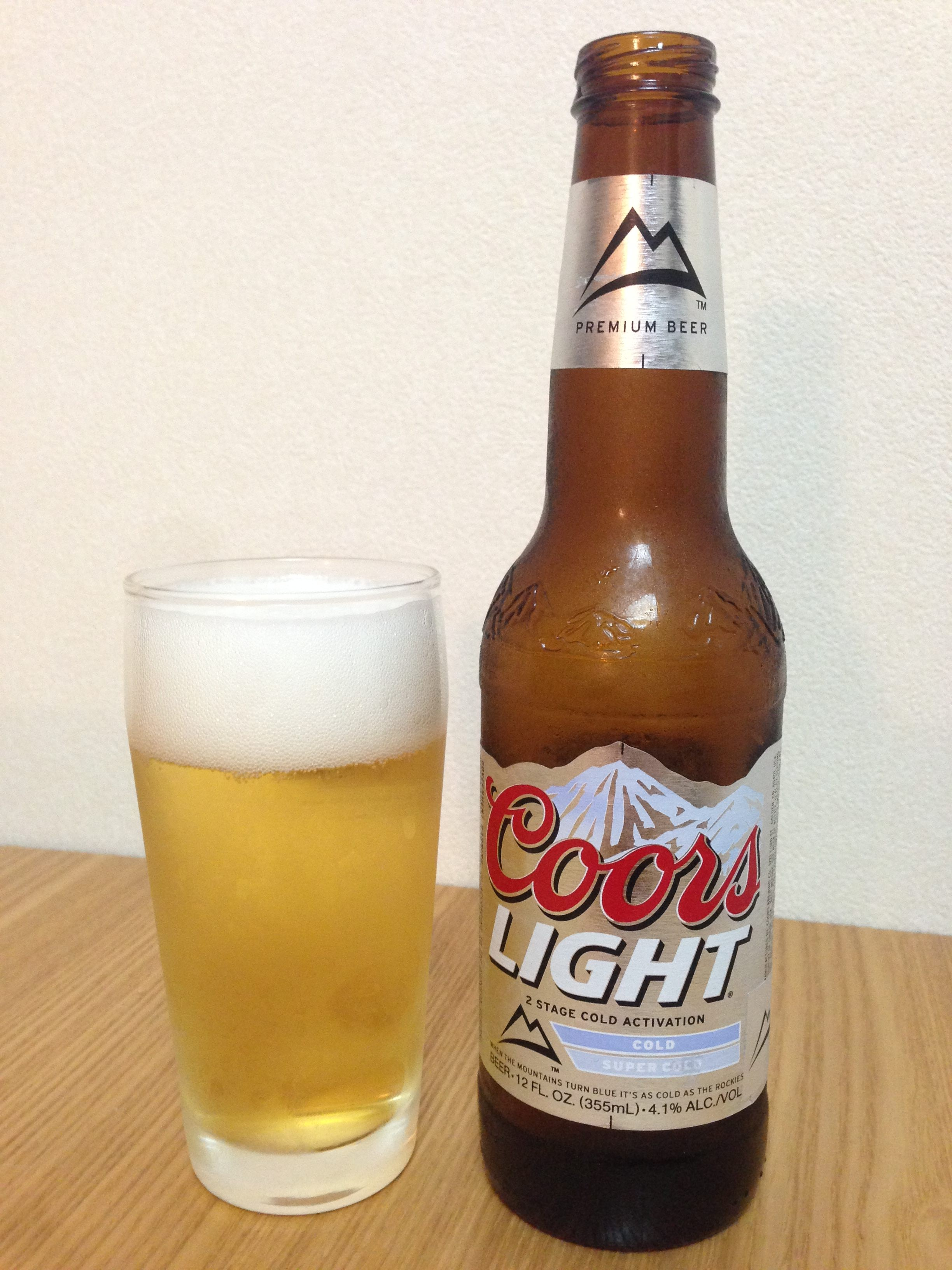 coors light(クアーズ ライト)