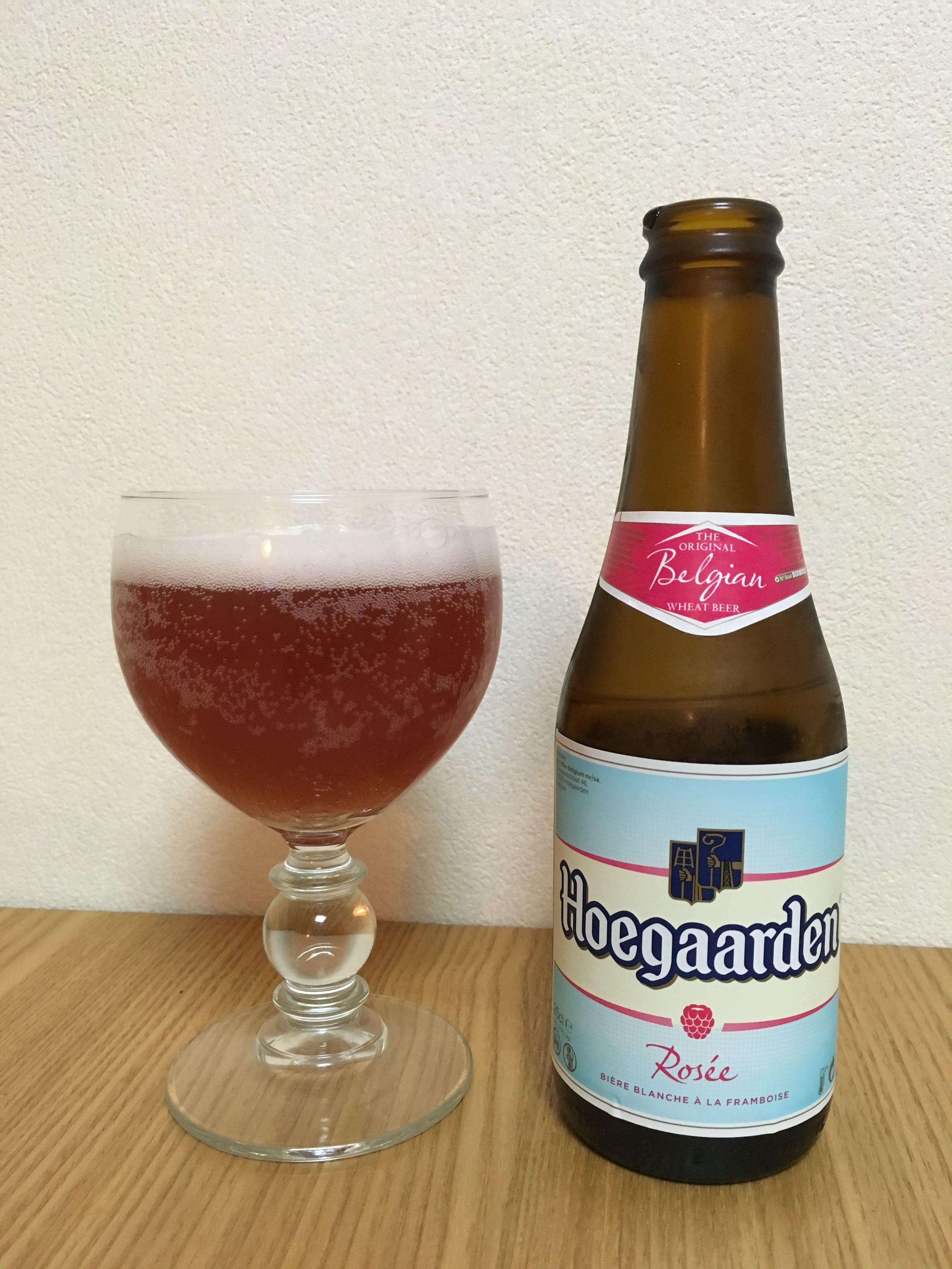 Hoegaarden Rosée(ヒューガルデン ロゼ)