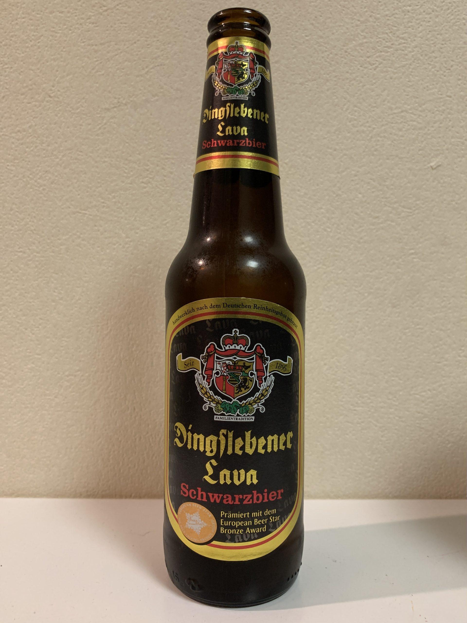 Dingslebener Lava Schwarzbier (ディングスレーベナー ラヴァ シュバルツビア)