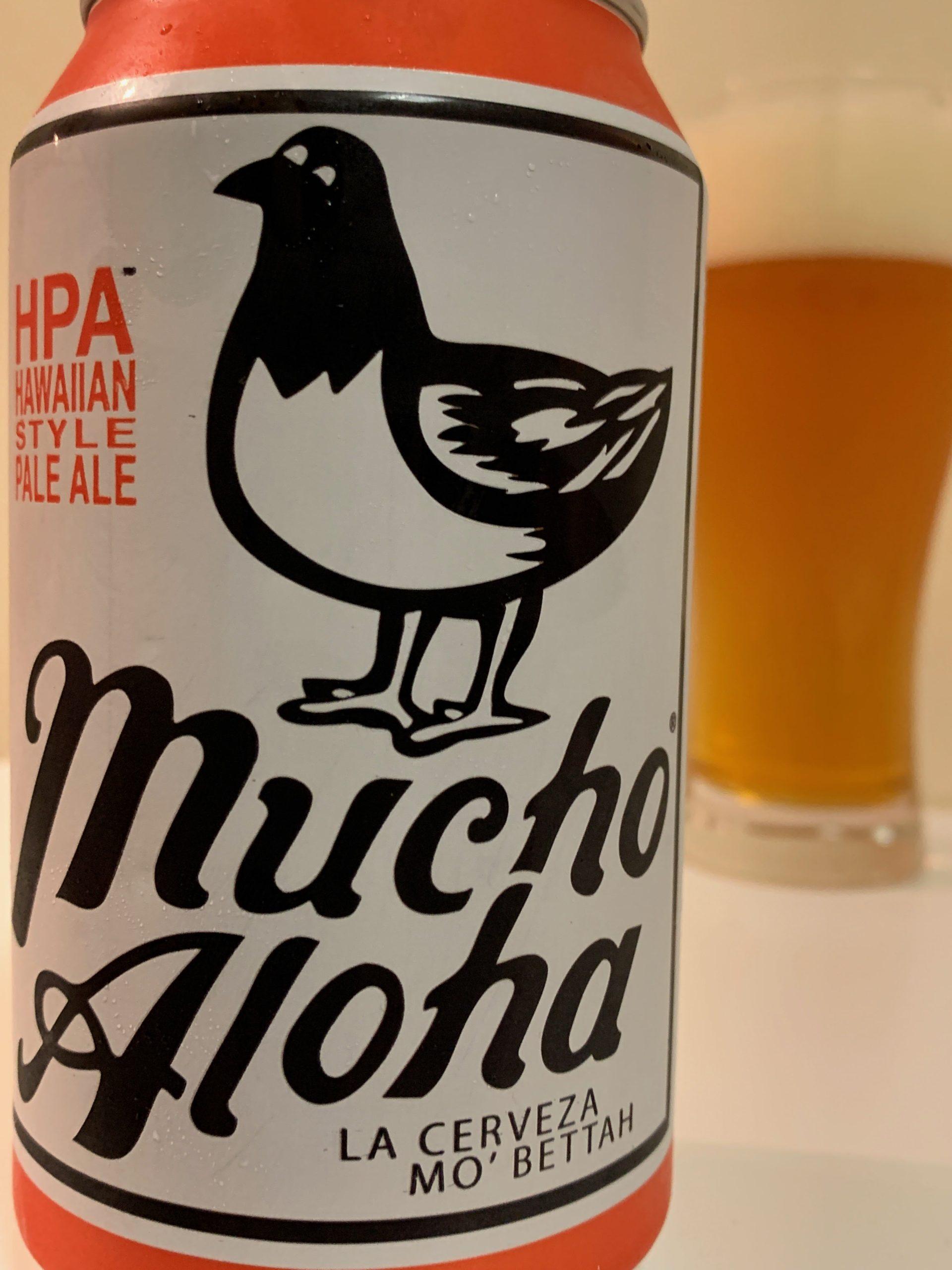 Mucho Aloha HPA(HAWAIIAN STYLE PALE ALE) (ムーチョ アロハ HPA)