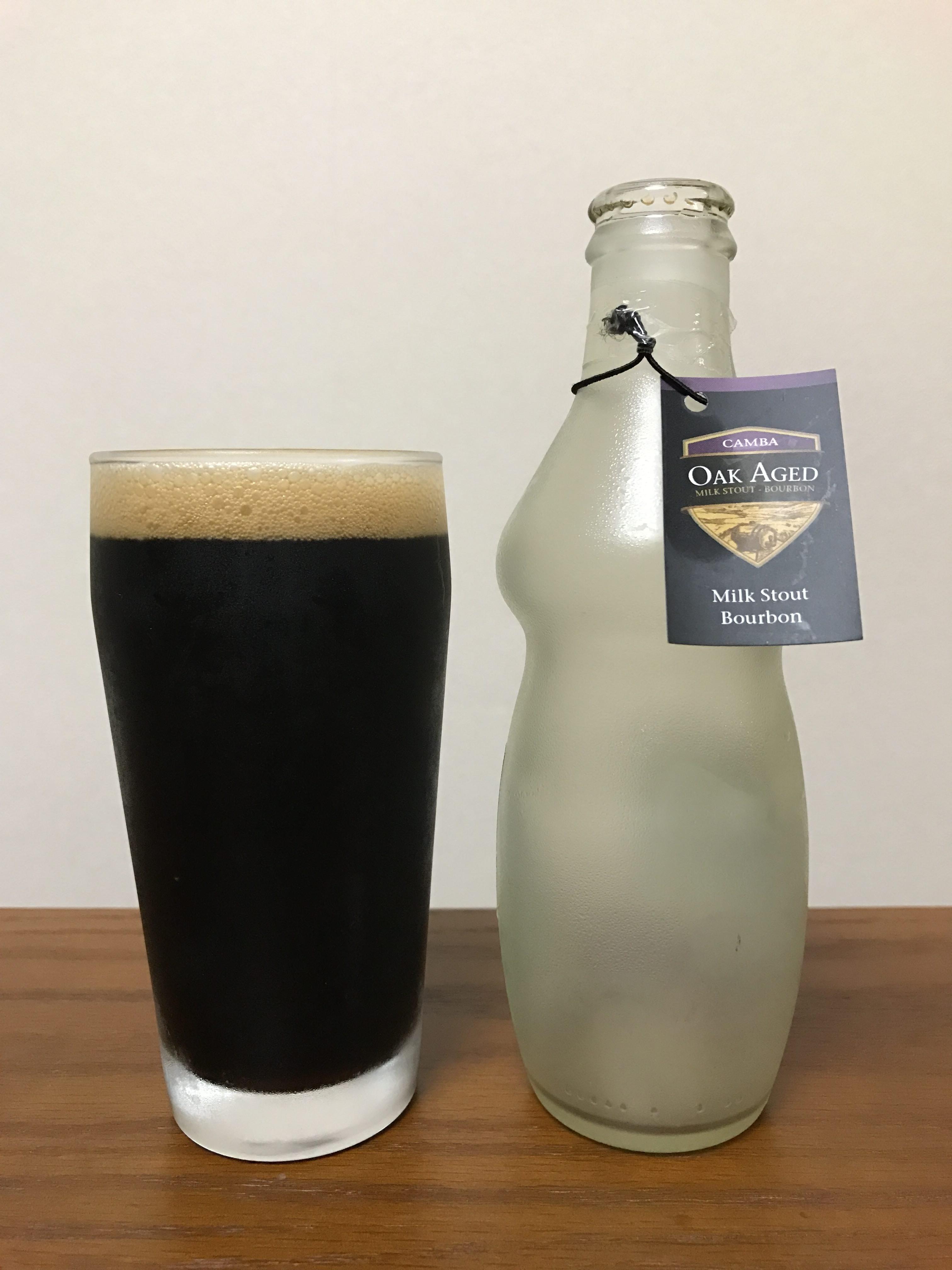 Oak Age Milk Stout Bourbon(バーボンエイジ ミルクスタウト)