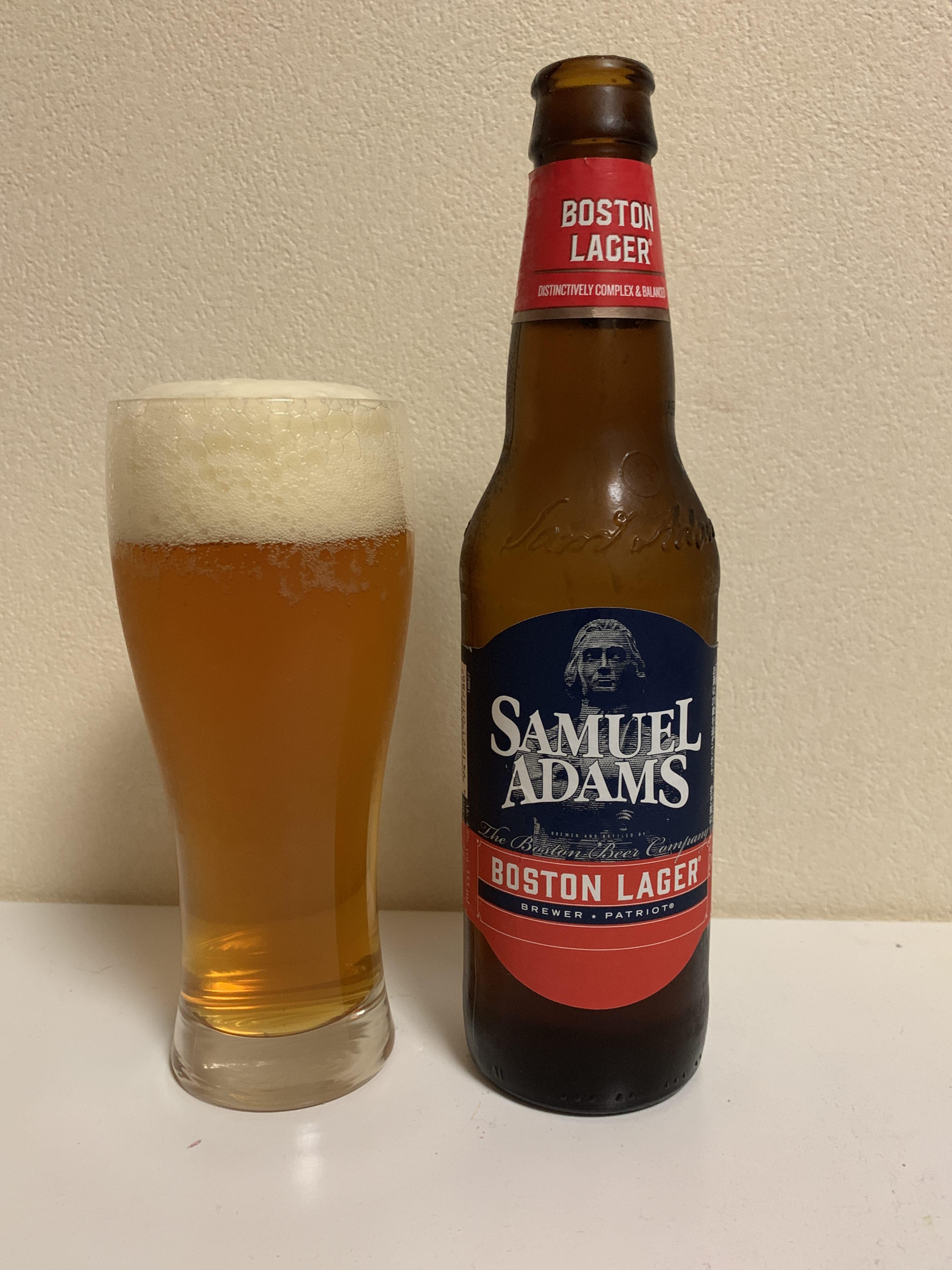 SAMUEL ADAMS BOSTON LAGER(サミュエルアダムス・ボストン ラガー)