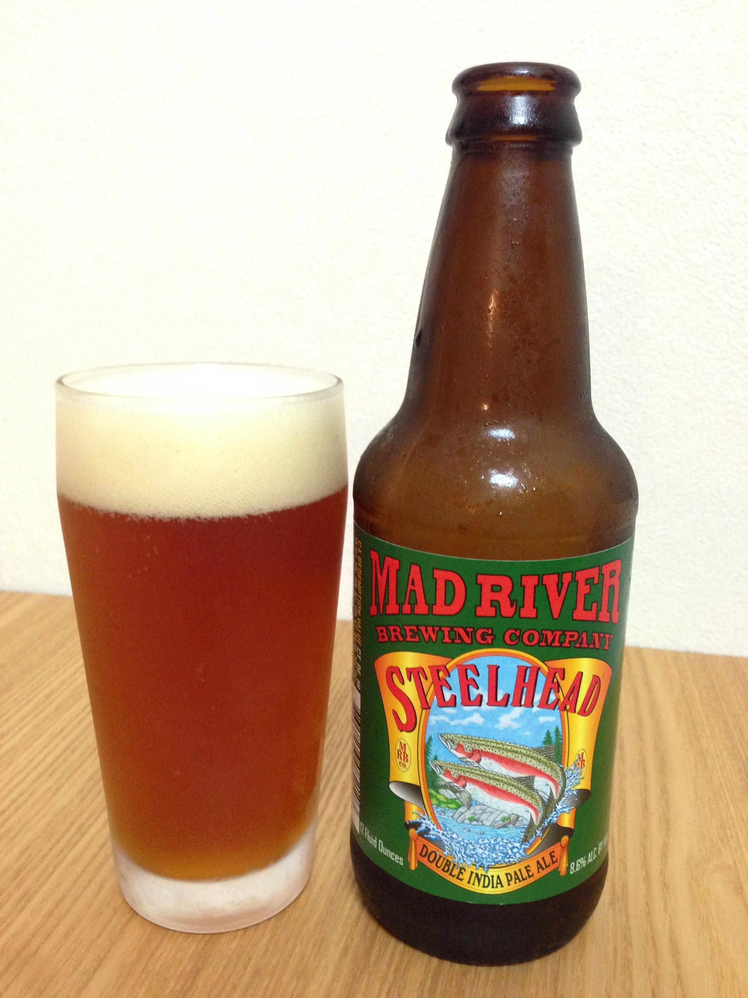 MAD RIVER STEELHEAD DOUBLE IPA(スティールヘッド ダブルIPA)