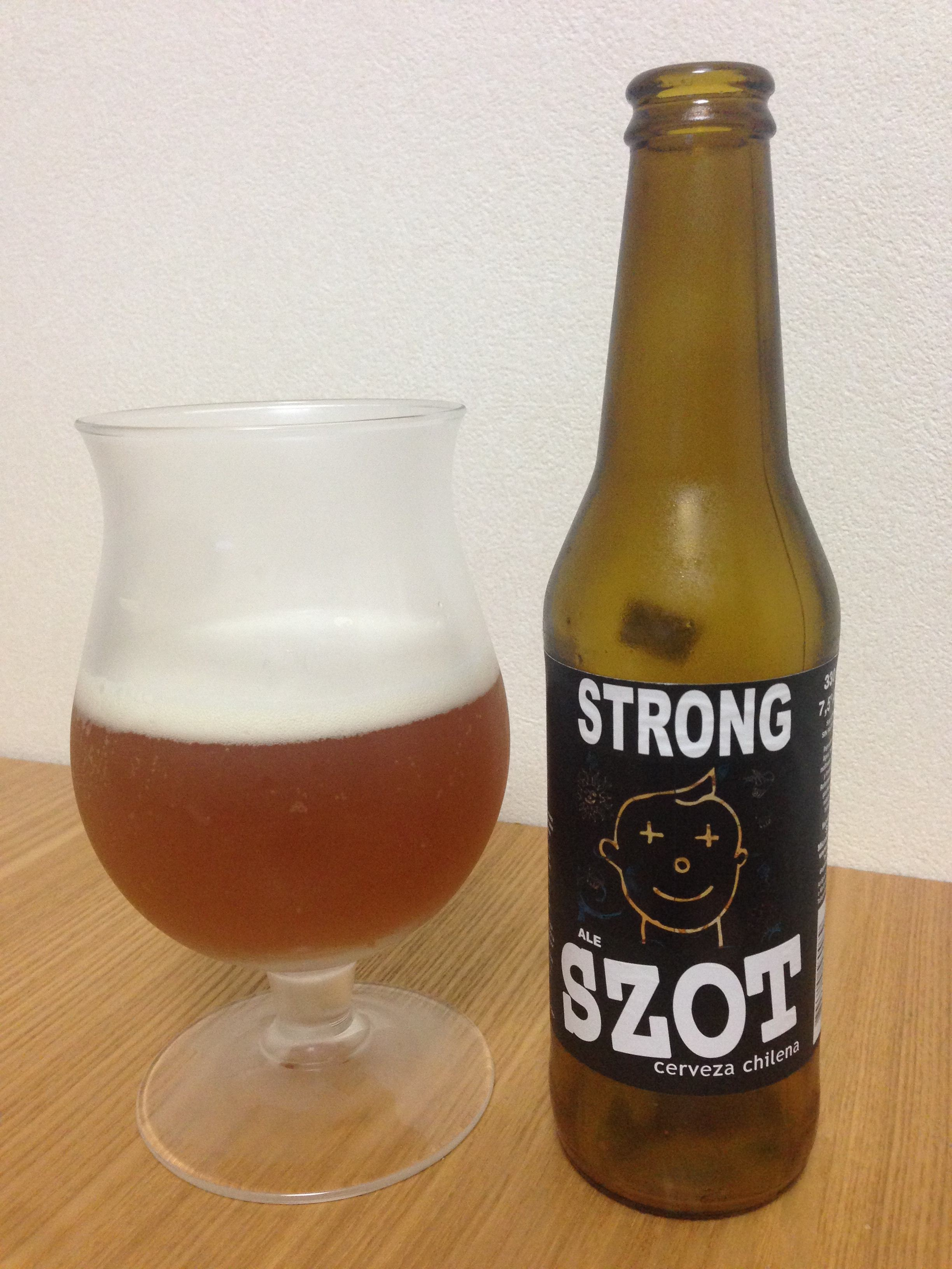 SZOT STRONG ALE(ソット ストロングエール)