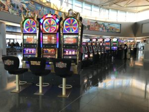Slot at airport